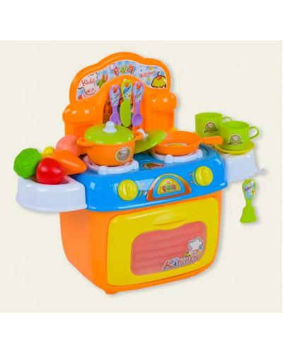 """Набор """"Кухня"""" 008-97 свет-звук, газ. плита, духовка, набор посуды, в кор. 39*20*30см"""