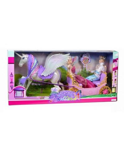 Карета 68133 кукла, Кен, лошадь, в кор. 67*19*31см