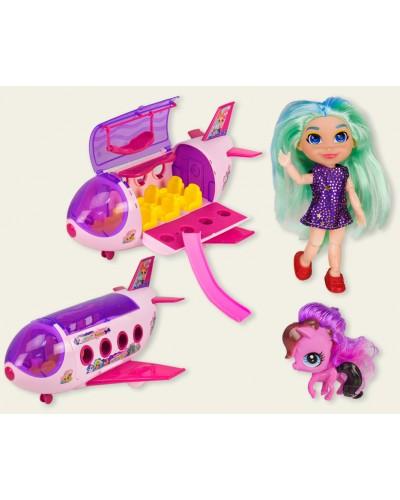 """Кукла """"Н"""" TM254 самолет, питомцы, аксессуары, в кор. 39,5*16*22,5см"""