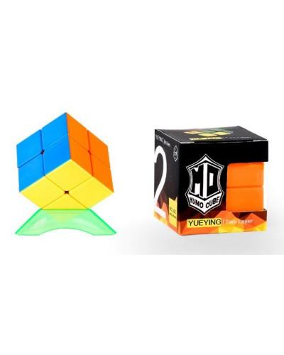 Кубик логика 379005-A  2*2 с подставкой, в коробке 5*5*5 см