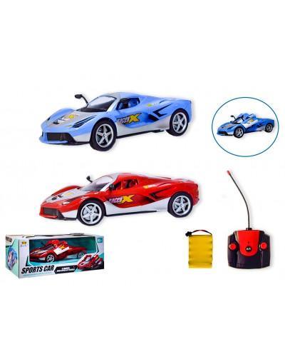 Машина аккум р/у 9808-604AA 2 цвета, откр. двери, в коробке 46*23*18см