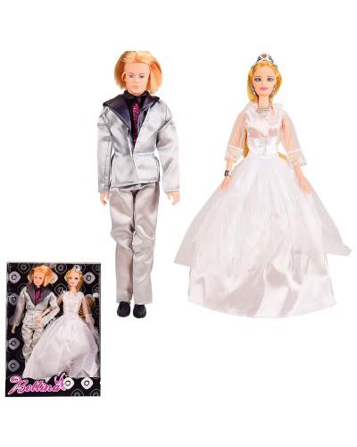 "Кукла типа ""Б"" 66854 Кен, невеста, в кор. 32,5*23*6 см"