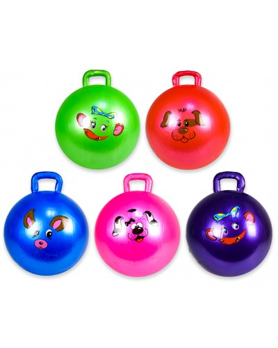 Мяч для фитнеса CL12-004 с шипами, гири MIX, 45 сm 350 грамм