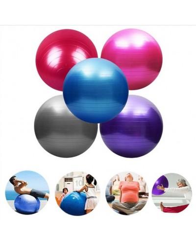 Мяч для фитнеса CO8001 65 см 800 грамм в коробке 4 цвета