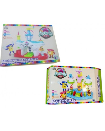 Набор для творчества 9310/2 (9310) пластилин Мороженое, 2 вида, в коробке 42,7*34,3*9,2 см