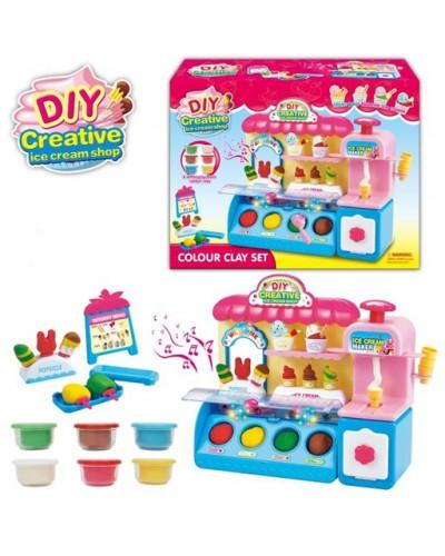 Набор для творчества 991 Мороженое, пластилин, фигурки, в коробке 36*27*12см