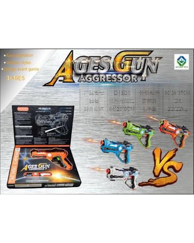 Оружие D1801 в коробке 44*28*6см