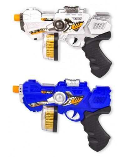 Пистолет батар. RF226D-1/RF226-1 2 цвета, в пакете 19,5*28см