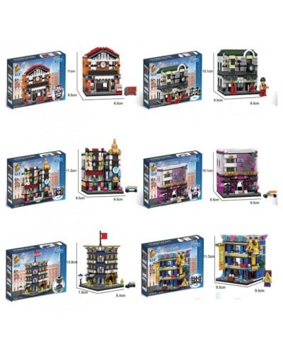 Конструктор 657013-657018 6 видов, в коробке 25*6*34см
