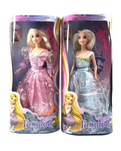 """Кукла """"Принцесса"""" L-2B  2 вида, в колбе 33*15*5,5см"""