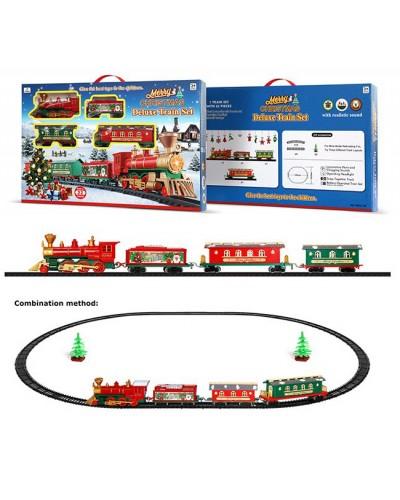 "Железная дорога батар. 1600A-7B ""Merry Christmas"" 22 дет.,свет,звук,в коробке 49,5*32,5*6см"