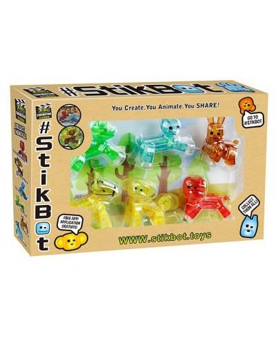 Набор для анимации 2117 6 видов животные, в коробке 12,6*2,8*23,8см