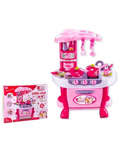 Набор Кухня 008-801 свет-звук, посудка, приборы, плит, духовка,в кор. 62*10*51см