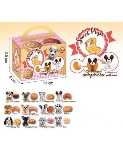 Животные-вывернушки 20020 Сладкие щенки, 12 видов в коробке 13*8*8,5см