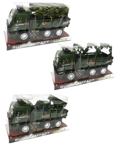 Военная техника инерц 3028B/29B/3029 3 вида, под слюдой 26*14*11см