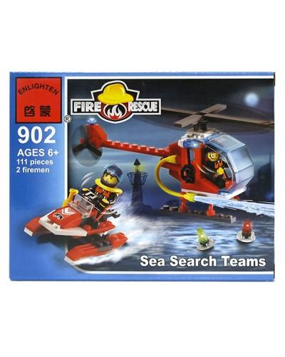 Конструктор  XB-14004  761дет., вертолет, в коробке 47*7*31см