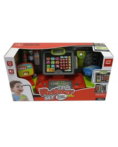 Кассовый аппарат 35559B сканер, микрофон, продукты, в кор.