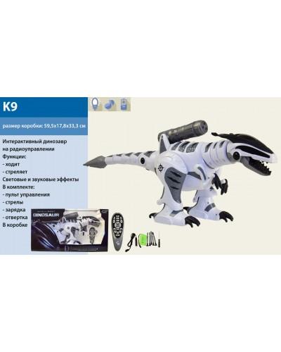 Интерактивное животное K9 на р/у, ходит, стреляет, светов. и звуков. эффекты, в кор. 59,5*17,8*33,3