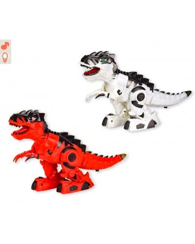 Интерактивное животное 666-16A динозавр, 2 цвета, батар., свет, звук, в кор. 25,5*10*20,5см