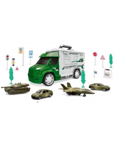 Паркинг 95577-25 военная техника, в кор. 58*16.5*22см