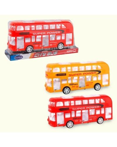 Автобус инерц. 038-1B 2вида, слюда, 27,1*9,4*13,2см