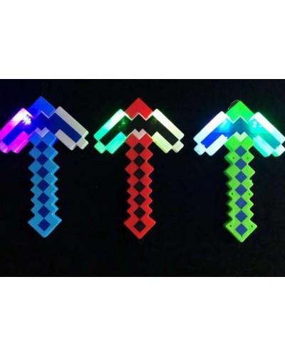 Оружие MW2223 свет, звук, 3 цвета,  34*22 см в пакете