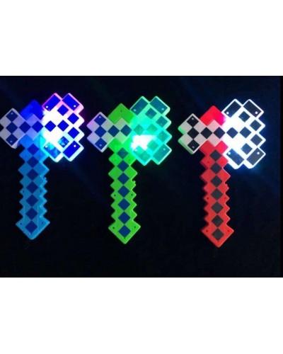 Оружие MW2224 свет, звук, 3 цвета, 36*21 см в пакете