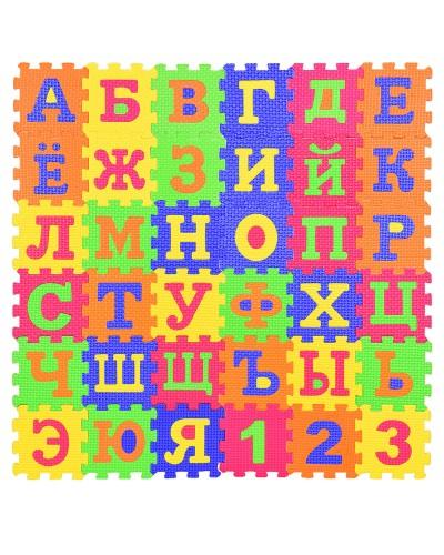 Пазлы фомовые TH-88302 рус. алф. в пленке 20*2,5*15 см