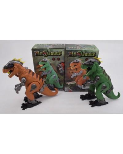 Интерактивное животное 6681 (1890753) Динозавр, ходит, свет, звук, в коробке 17*10,5*27см