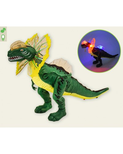 Интерактивное животное D109 Динозавр,свет,звук, в коробке 28*14,5*16см