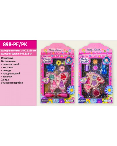 Косметика 898-PF/PK 2 вида, в коробке 14*2,5*20см