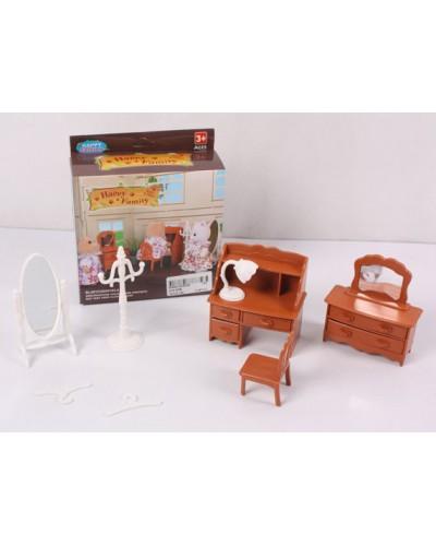 Животные флоксовые 012-05B письменный стол, /фигурки животных в набор не входят/,  в короб.