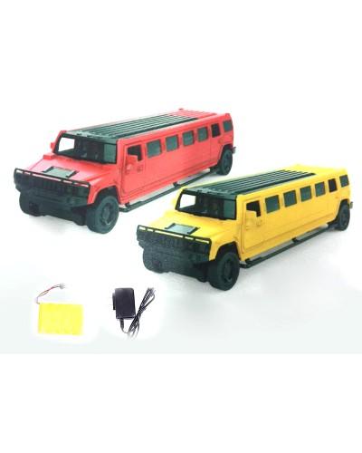 Машина аккум. р/у 666-713A 2 цвета, в кор. 35*9,5*8см