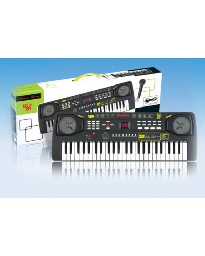 Орган SD4901A батар, музыка, микрофон, зарядное устр, в коробке 59*20*6,5см