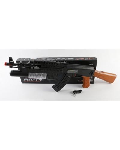 Автомат батар. AK-74 (1520550) свет, в коробке 47,5*4,5*16,5см