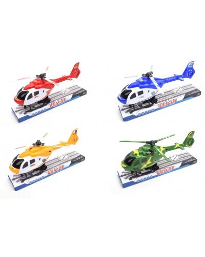 Вертолет  665-1/667-1/670-1/673-1(1863693/96/700/704 )  4 вида, под слюдой 33*15*8см