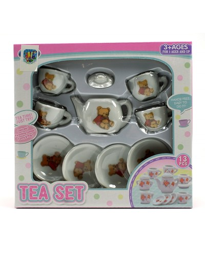 Посуда фарфор 868-D37 чайник, чашечки, блюдца, в кор. 20*18,5*4см