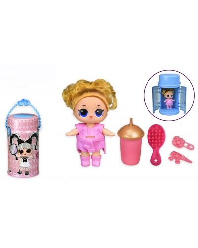 Герои Bela Dolls BL1170 кукла 25 см в капсуле, свет, музыка, р-р игрушки-14 см, в уп-ке 15.5*15.5*28