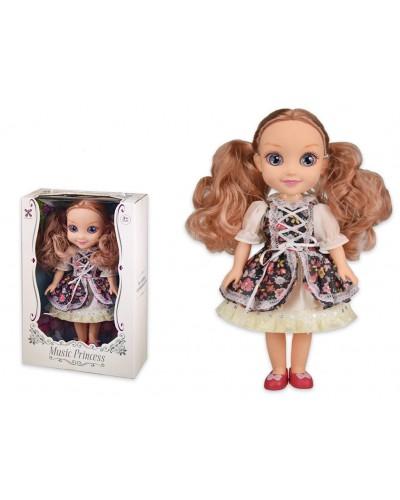Кукла муз YL002 свет-звук, английский чип, расказывает истории, р-р игрушки 34 см,