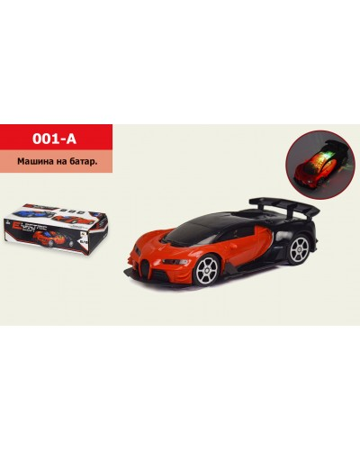 Машина инерц. 001-A свет, звук, р-р машины - 23,5*10,5*6см, в коробке 24*7*11,5см