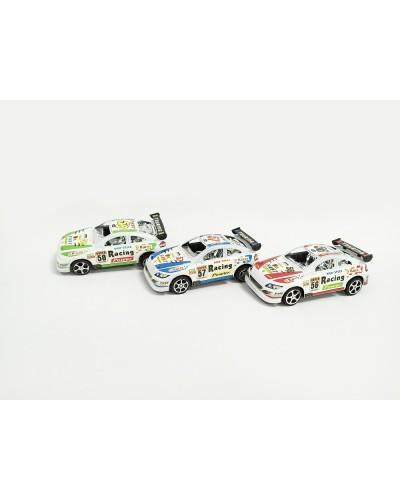 Машина инерц. 7289 Sportcar, 3 цвета, в пакете 15*6,5*5см