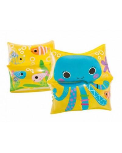Детские надувные нарукавники Intex 59650 Sea Buddy Arm Bands (19х19 см)