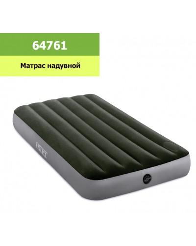 Кровать велюр 64761 99*191*25 см в кор