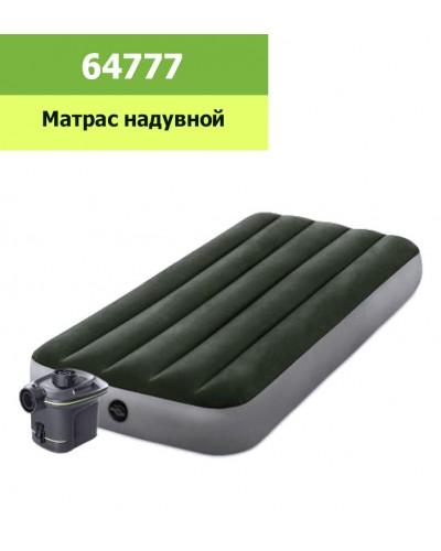 Кровать велюр 64777 99*191*25 см в кор
