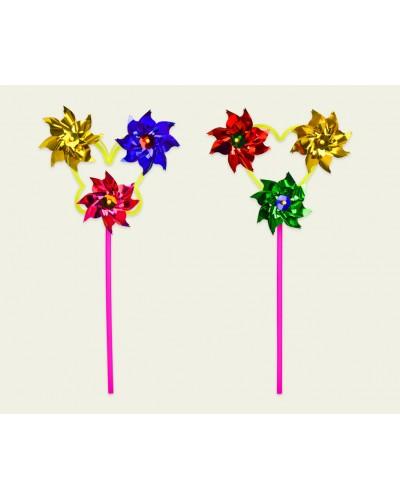 Ветрячок SC20454 3 цветка 9 см
