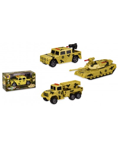 Военная техника MQ818A/MQ818B/MQ818C 3 вида, свет, звук, р-р игрушки – 17*7.5*8 см