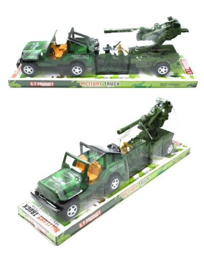 Военная техника 8666C 4вида, слюда  37*11,5*10см
