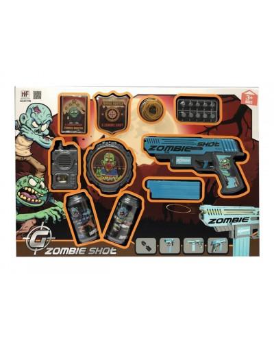 Игровой набор Zombie Shot NF170B в комплекте оружие и аксессуары, в кор. 50*35*4см