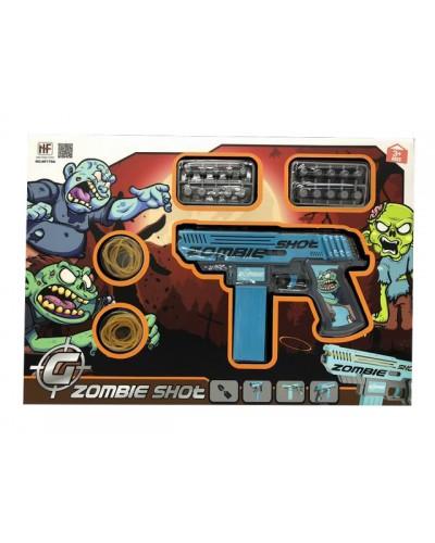 Игровой набор Zombie Shot NF170A в комплекте оружие и аксессуары, в кор.43*30*4см