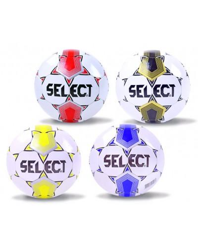 Мяч футбол B23832 №5, PVC, 330 грамм, MIX 4 цвета